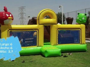 Inflable Angry Birds