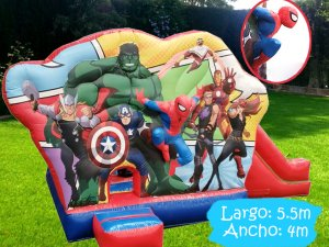 Inflable-Cubo-Avengers-3D