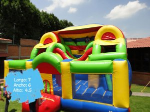 Inflable Doble Tobogán
